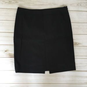 The Limited size 8 black pencil skirt C2